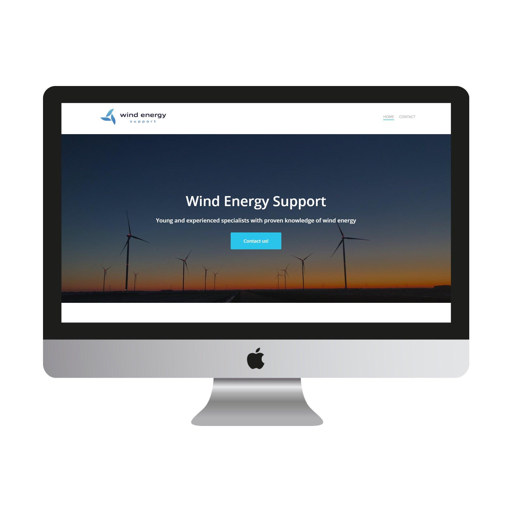 Wind Energy Support website